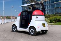 迈凯伦F1车型设计师推出纯电动自动驾驶微型车 只可坐一人