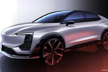 将于日内瓦车展首发 爱驰U6 ion设计草图曝光