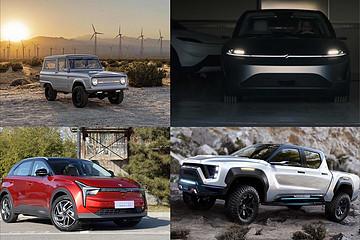 索尼Vision-S概念车/起亚全新K5/Nikola新能源皮卡等重磅车型