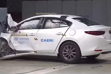 中保研公布八款主流合资A级轿车碰撞结果 马自达3/菲斯塔/思域等在列