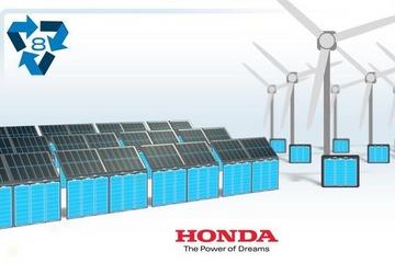 本田正式发布第二生命计划 携手SNAM回收电动汽车电池组