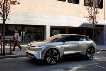 增添科技范儿 雷诺全新电动SUV效果图