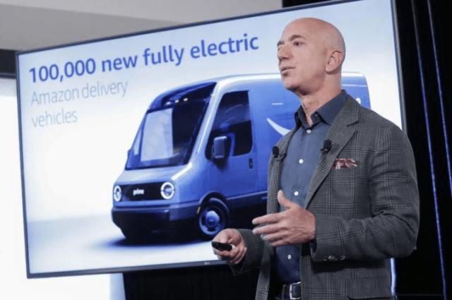 """亚马逊牵手""""皮卡界特斯拉"""",助力全球电动货车市场崛起"""