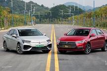 比亚迪全新秦EV VS 广汽新能源Aion S