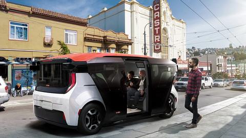 全球首款为自动驾驶设计的量产车来了:没有方向盘,每年为一家人省5000美元出行开支