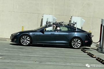 马斯克被打脸了吗?特斯拉官方测试车居然顶着激光雷达出街了