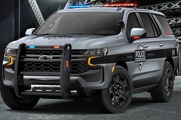 5.3L V8动力!2021款雪佛兰警用Tahoe官图发布