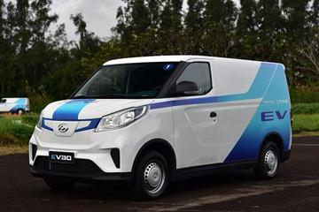 上汽MAXUS EV30欧洲上市!将布局物流行业