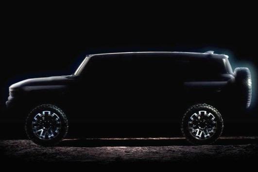 悍马EV将于10月20日发布!续航可达640km