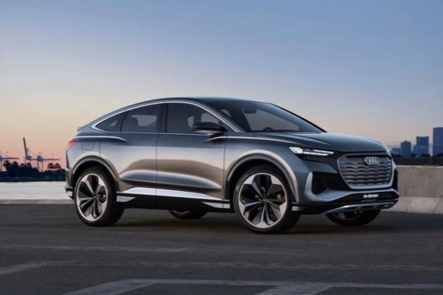 奥迪Q4 e-tron轿跑将于2022年初发布!