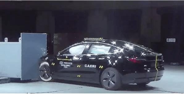热浪|中保研公布国产特斯拉Model 3碰撞成绩 乘员安全指数为优秀
