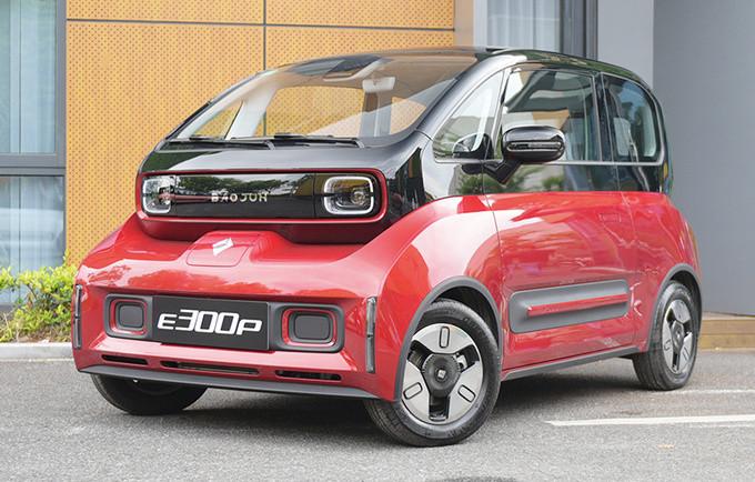 新宝骏E300纯电轿车预售 XX万元起-下月上市-图1