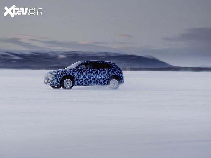 奔驰EQA冰雪测试谍照 巴黎车展正式亮相