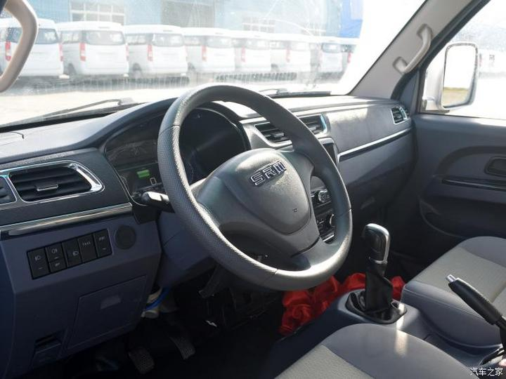 SRM鑫源新能源 鑫源T50EV 2019款 创富型厢货68.6度力神电池