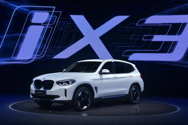 中国制造宝马iX3海外开售 起售价约54.2万元人民币