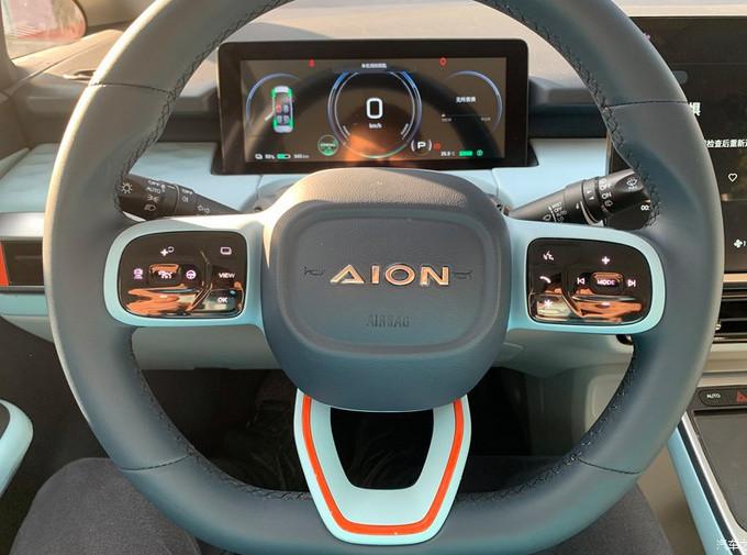 广汽埃安全新小型SUV街拍 造型足够科幻/4月上市-图4