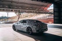 与S级共线生产 全新奔驰EQS首张官方预告图发布