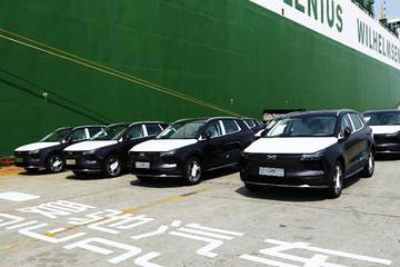 首批爱驰汽车出口欧盟 500辆定制欧版U5启运