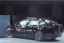 中保研公布国产特斯拉Model 3碰撞成绩 乘员安全指数为优秀