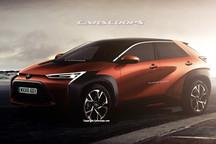 丰田新款纯电SUV效果图 预计使用e-TNGA平台/2022年推出