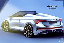 定名SLAVIA 斯柯达发布全新概念车预告