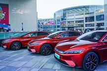首批100辆 汉EV在北京地区已开始交付