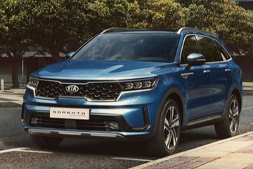 预计2021年销售 起亚全新索兰托PHEV车型曝光