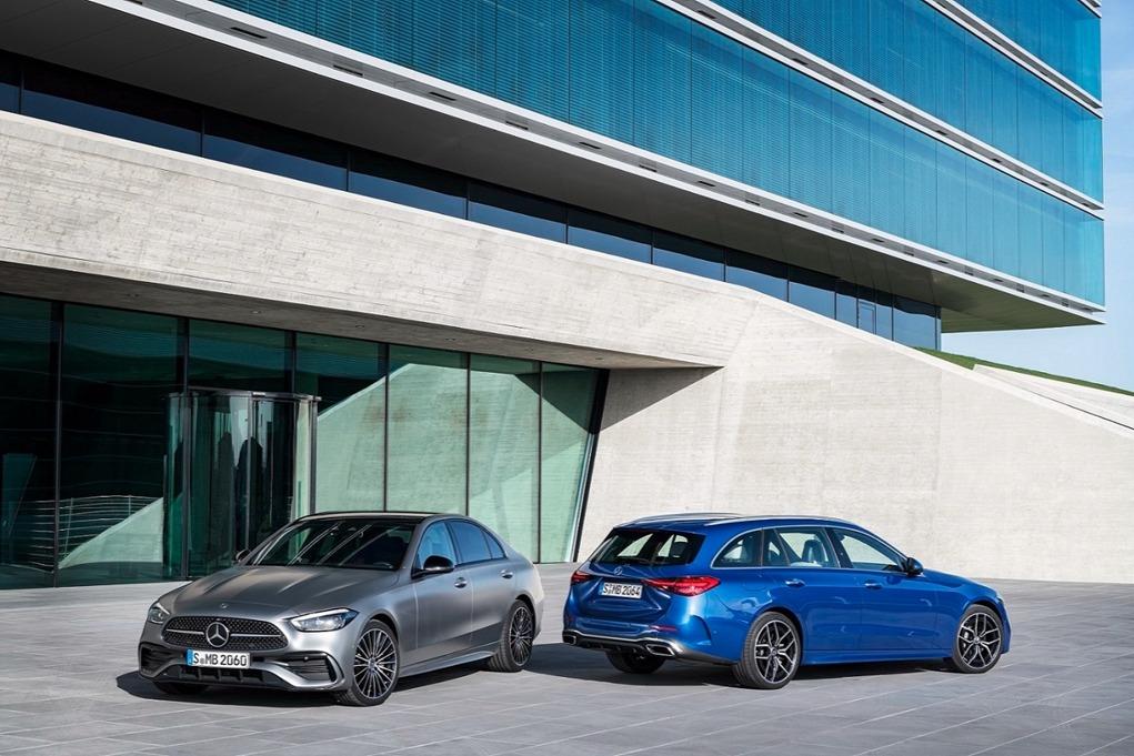 全新奔驰C级全球首发 将有多个电动化版本