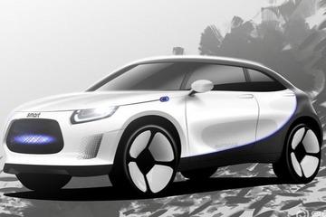 代号HX11/面向中欧市场 smart纯电SUV最新消息曝光