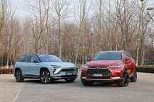 比亚迪21款唐EV对比蔚来ES6 谁才是中型纯电SUV王者