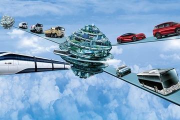 中巴共同见证全球首条跨海云轨下线