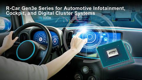前瞻技术,瑞萨电子,R-Car Gen3e SoC,汽车应用,CPU性能