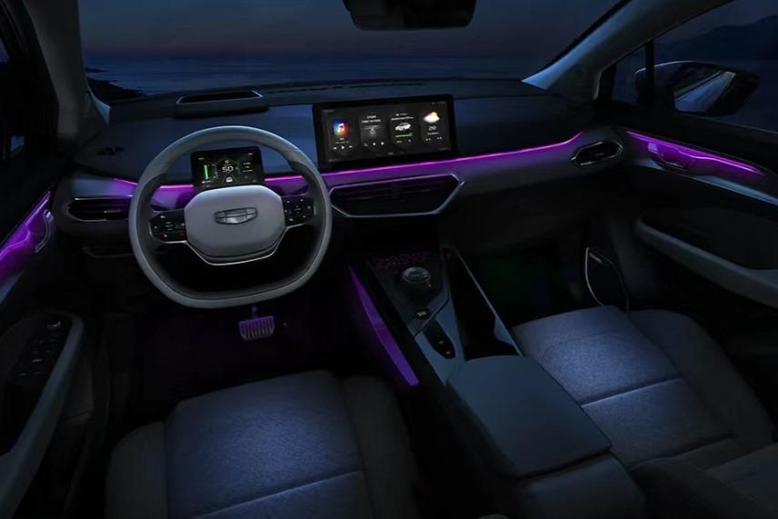 补贴后售价16.28万 几何C++版灵感紫上市 生活就该酱紫