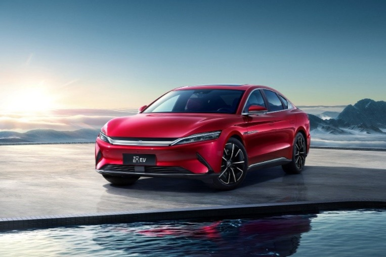 比亚迪汉将于7月19日开启一周年OTA升级 HUAWEI HiCar车机互联加持