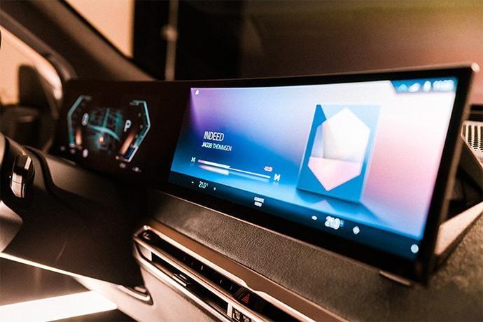 BMW iDrive 8实机曝光 iX车型将率先搭载