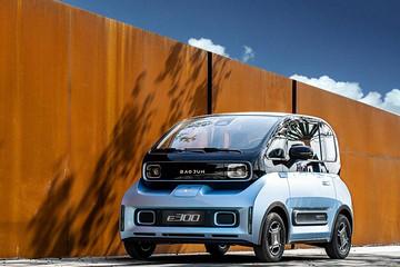 新宝骏E300系列上市,最大续航305公里6.48万起售