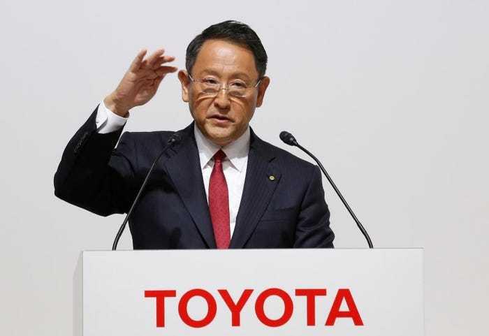 丰田章男:特斯拉的菜谱虽好,但丰田才是最会做菜的