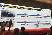 微车续航里程也能到251公里 看奇瑞新能源部分新车计划