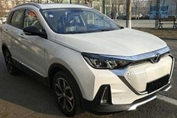 搭218马力电机 曝北汽新能源EX5申报图