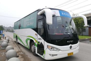 迎来共享风口,彩虹共享巴士计划2018年线路突破500条