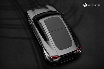 零跑首款量产电动智能汽车11月10日发布,零跑S01概念图曝光