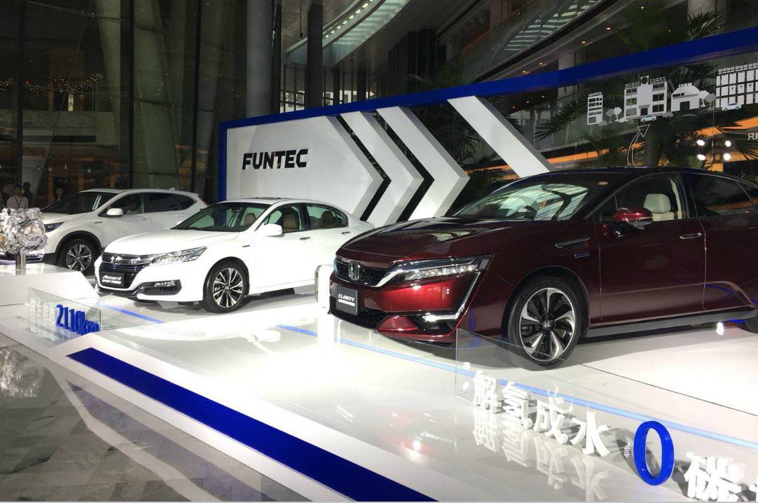 本田2018年国产紧凑纯电动SUV 开展汽车共享合作