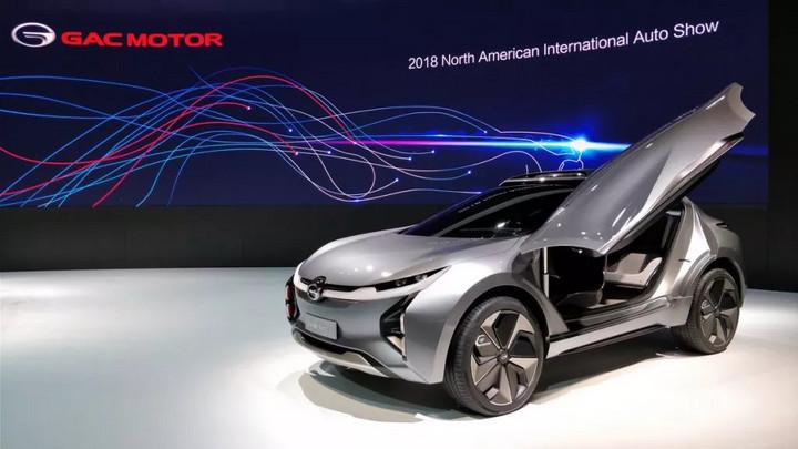 北美车展遭亚洲厂商踢馆,最好看的一辆竟是中国品牌