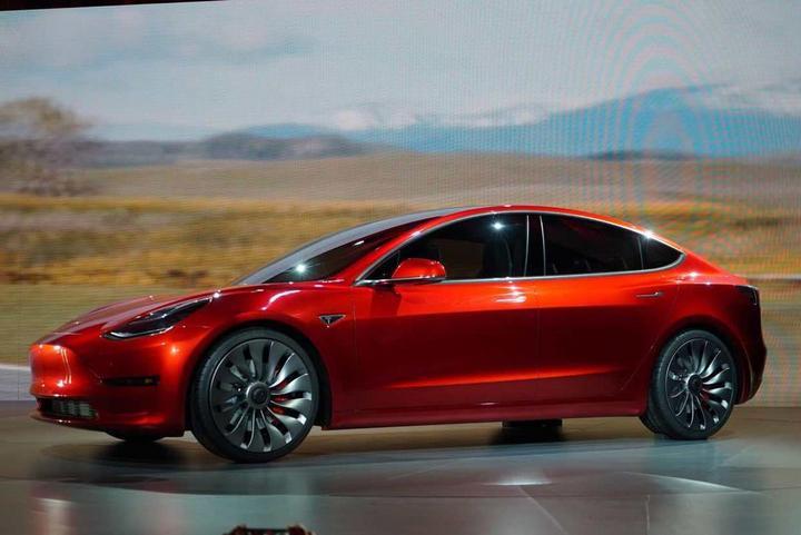 特斯拉Model 3 的图像结果