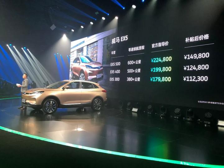 威马 EX5 上市 9.9 万元起售,电动汽车时代提前来临了吗?