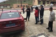 EV英雄会横穿中国之旅   一路充电一路讲解,北汽新能源EU400驶入川藏无高反