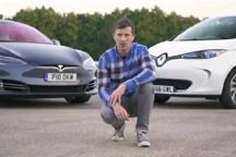 视频 | 不一样的对决!特斯拉Model S vs 雷诺ZOE