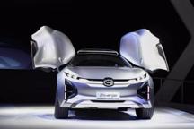 广汽传祺带着Enverge概念车直击北美车展
