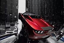SpaceX猎鹰重型运载火箭成功发射!特斯拉Roadster走向星际