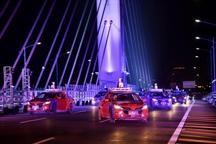 """狗年春晚最""""燃""""时刻!百度Apollo无人车队在港珠澳大桥开跑"""